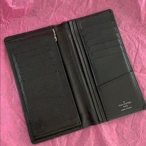 Louis Vuitton epi bifold long wallet
